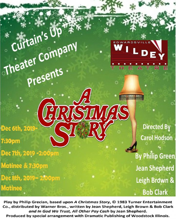 A Christmas Story 2019.A Christmas Story Live Play The Wildey Theatre In