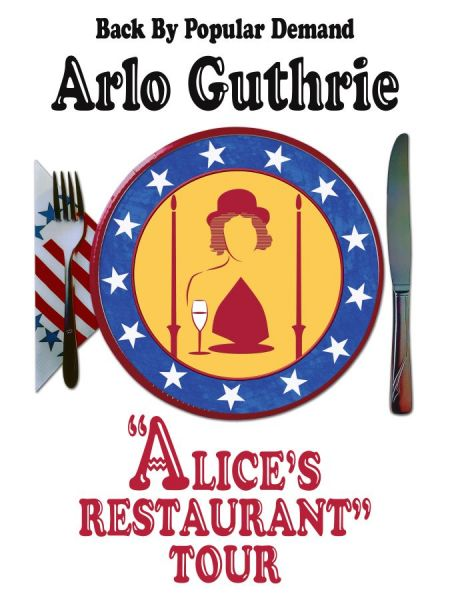 ARLO GUTHRIE - The Alice's Restaurant Tour