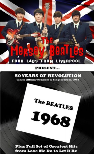 THE MERSEY BEATLES - Four Lads From Liverpool Live
