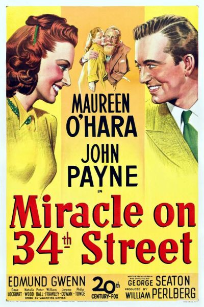 Miracle On 34th Street ($2 Tuesday Movie) 1947