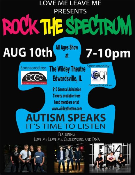 Rock the Spectrum:  An Autism Speaks Benefit Concert
