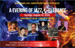 Wesley Chapel A.M.E. Church presents AN EVENING OF JAZZ & ELEGANCE