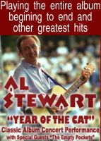 AL STEWART - Year Of The Cat – The Classic Album Live!