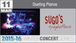 Dueling Pianos - Winter Concert Series