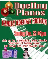 Dueling Pianos - Family Holiday Edition